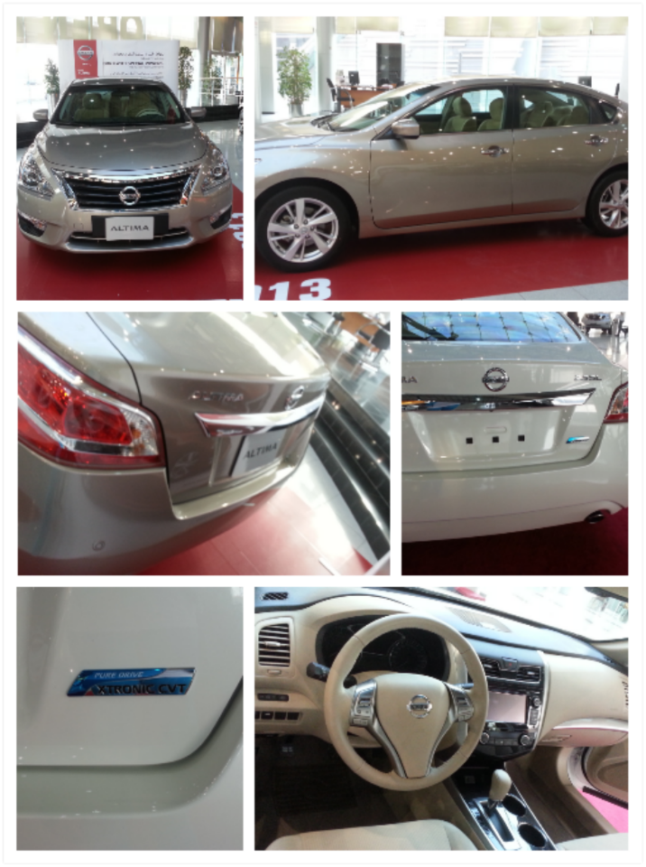 The new Nissan Altima 2013