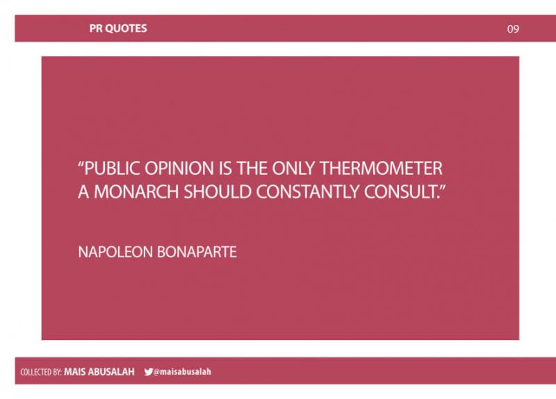 Inspiring PR & Communications Quotes 5