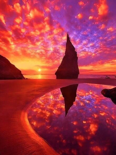Bandon, Oregon sunset