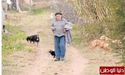 خوسيه موخيكا رئيس #الأوروجواي وزوجته عضو في مجلس الشيوخ ويصنف ضمن أفقر مواطني دولته - صورة 1