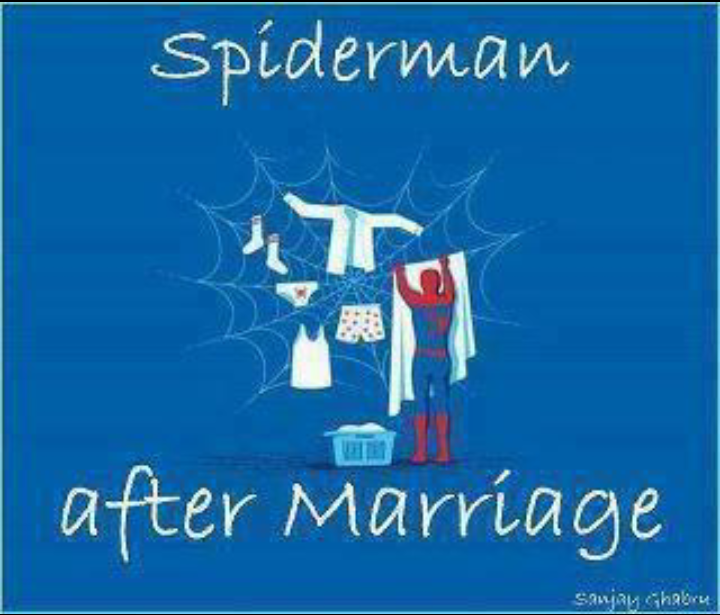 سبايدرمان بعد الزواج