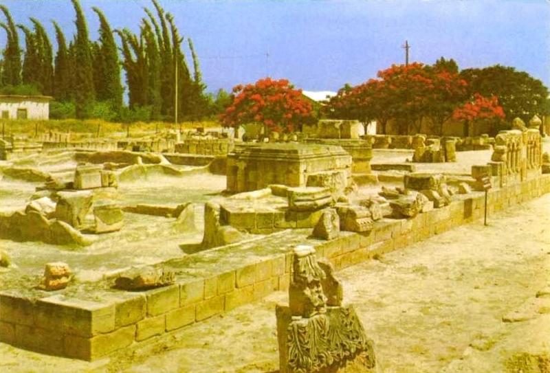 Ruins of Hisham bin AbdulMalek Palace B