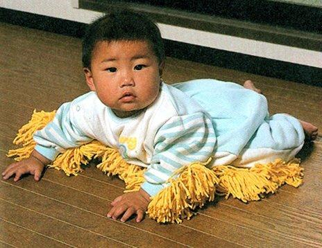 Baby Mop to utilize your kid Early Moves #LOL