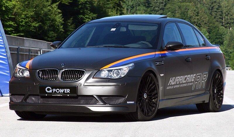 BMW M5 G-Power Hurricane RR - front shot