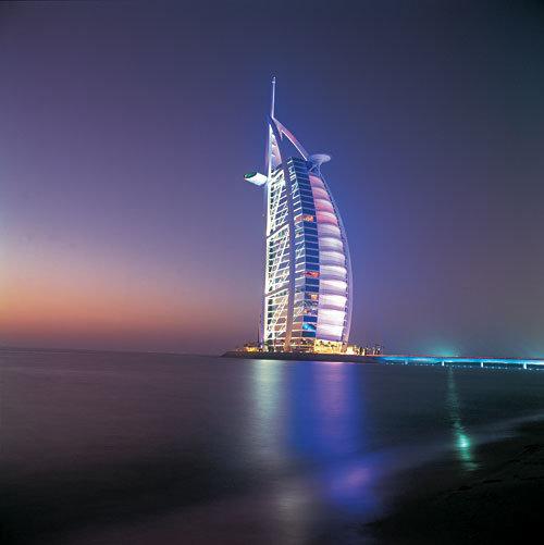#برج_العرب ليلاً في #دبي