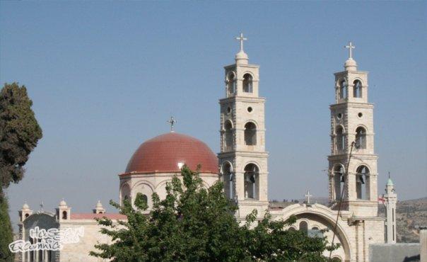 كنيسة دير اللاتين في #عجلون #الأردن