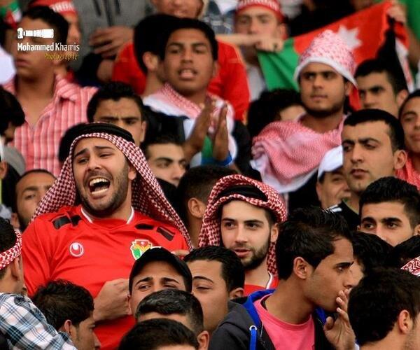 صورة لمشجعي منتخب النشامى #الأردن - صورة 2