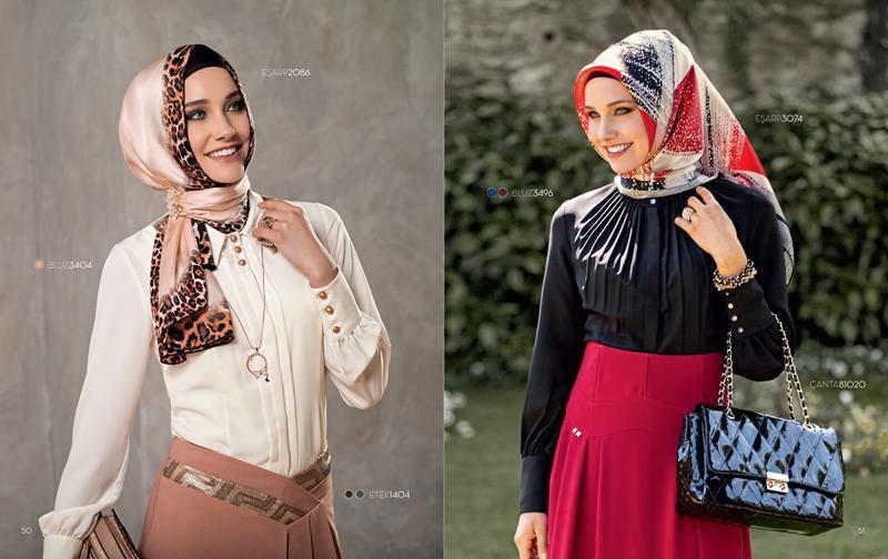 ملابس #محجبات #حجاب : موديلات #فساتين طويلة روعة #بنات - صورة 9