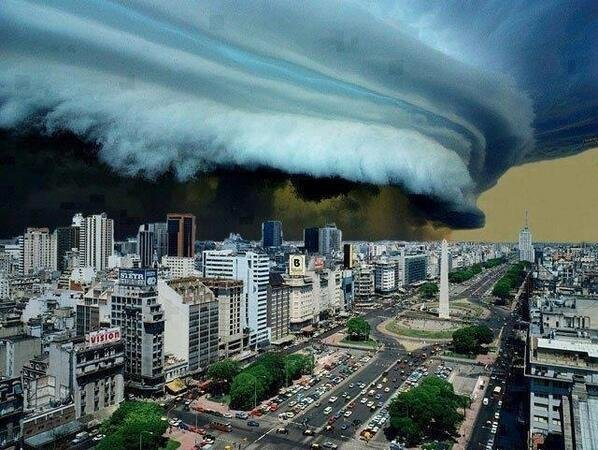 Rescent storm in Buenos Aires
