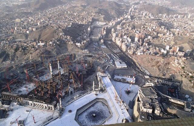 صور رائعة لن تتكرر لتوسعة المطاف في #مكة #السعودية - صورة 8