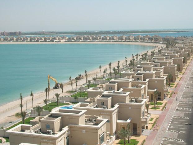 شاليهات جزيرة السعديات في #أبوظبي