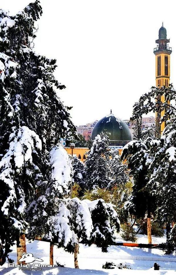 مسجد الجامعه الاردنيه