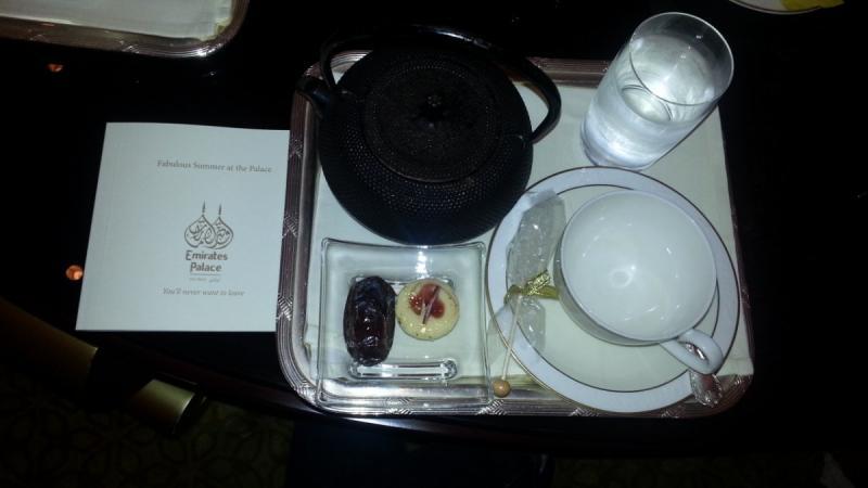 لعشاق الشاي - مساء الخير من #قصر_الإمارات في #أبوظبي