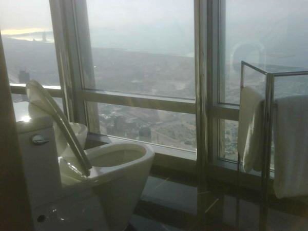 How it would feel to do it on the 155th floor of Burj Khalifa #Dubai