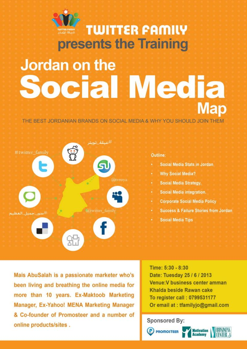 Jordan on the Social Media Map
