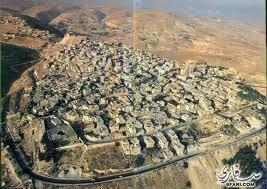 مدينة #الكرك #الأردن بأكملها في منظر جوي