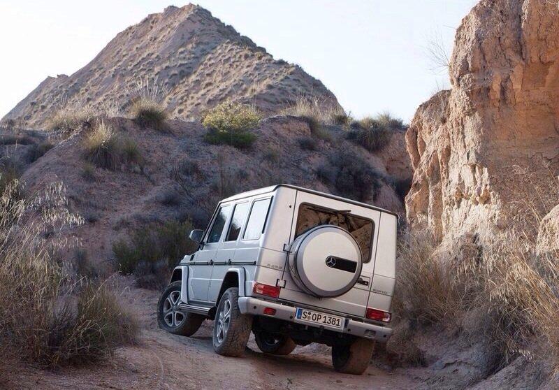 Mercedes-Benz G-Class - rear shot