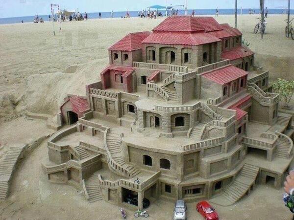 Perfect Sand Castle