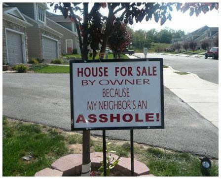 المنزل للبيع بسبب حقارة الجيران #نهفات