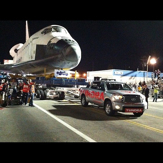 tundra space shuttle move
