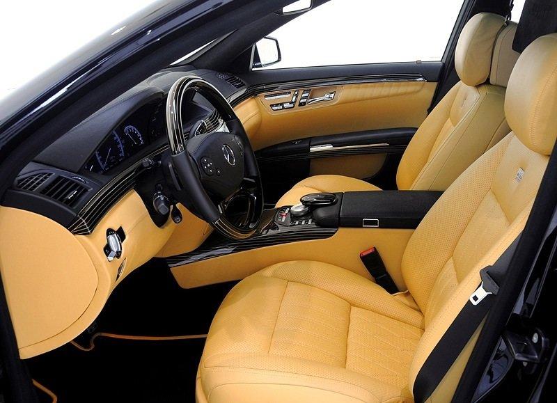 Mercedes-Benz Brabus S V12 R biturbo 800 - interior shot