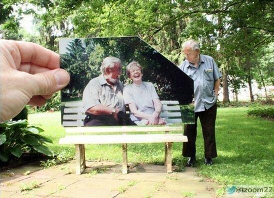 رجل يستعيد ذكرياته مع زوجته الراحلة مؤثرة ..!