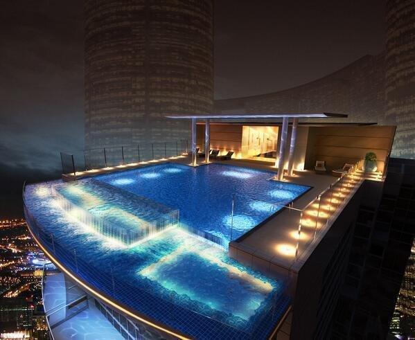 City Rooftop pool