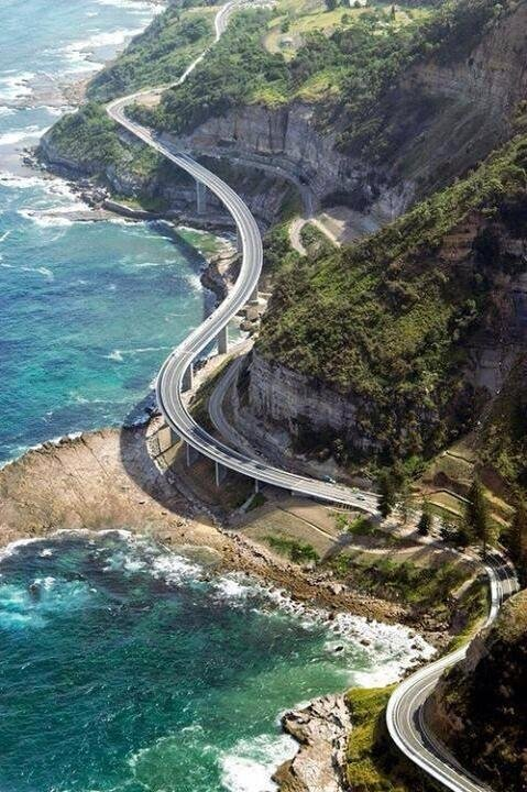 Elevated Highway in Wollongong, Australia