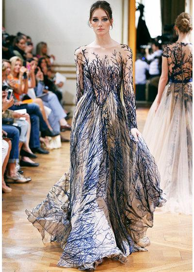 فستان من تصميم زهير مراد مجموعة هوت كوتور صورة 69