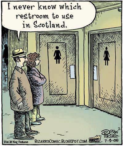 الحمامات في اسكتلندا
