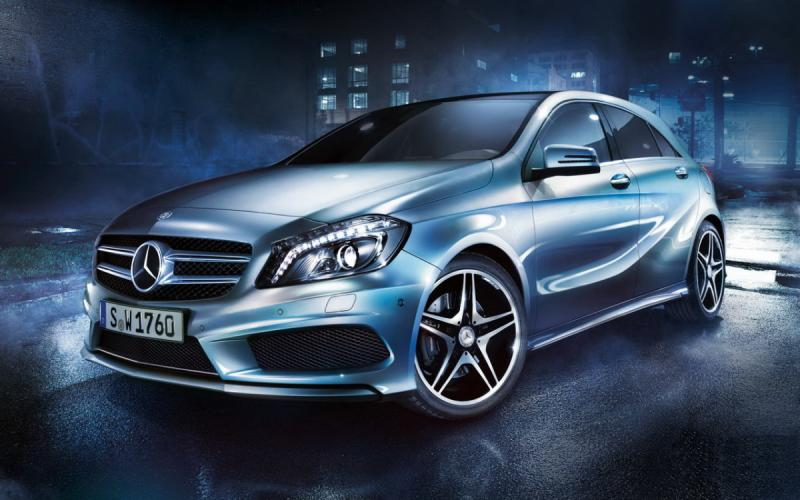 The New #Mercedes A Class AMG - 1