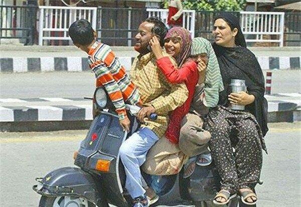 صور مضحكة من #الهند - صورة 4
