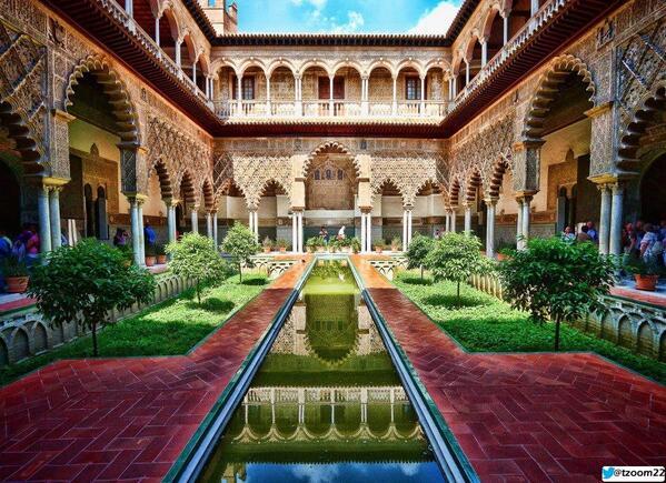 قصر إشبيلية في الأندلس