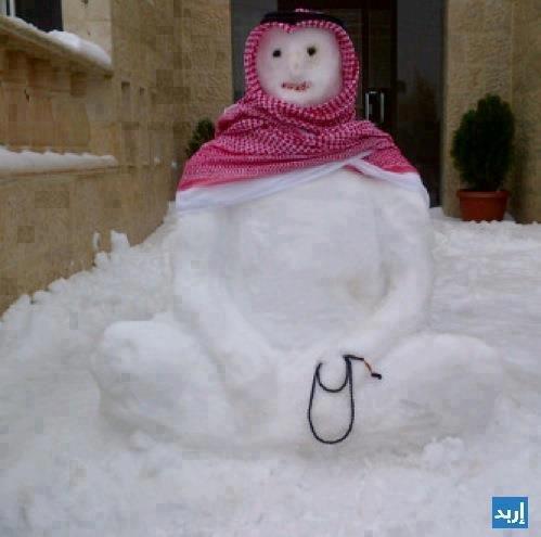 رجل الثلج المؤمن أبو سبحة