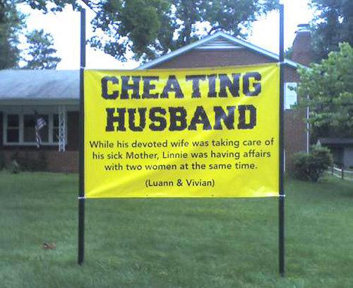 """Do not let your wife angry \""""Cheating Husband\"""" 3"""
