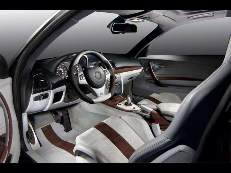 BMW M6 G-Power hurricane RR - interior shot