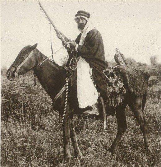 فارس معركة #الكرك ضد العثمانين قدر المجالي والذي أعدم على يد العثمانيين في سجن #دمشق عام 1910 #الأردن #تاريخ