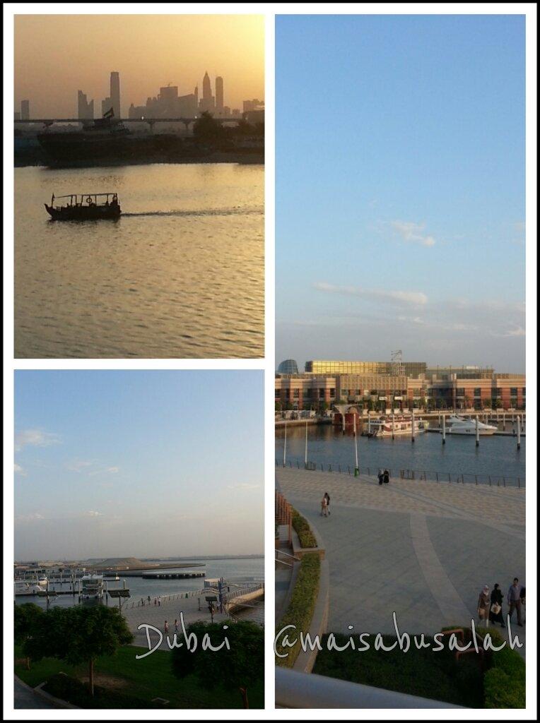 #دبي من شرفة فندق الإنتركونتيننتال