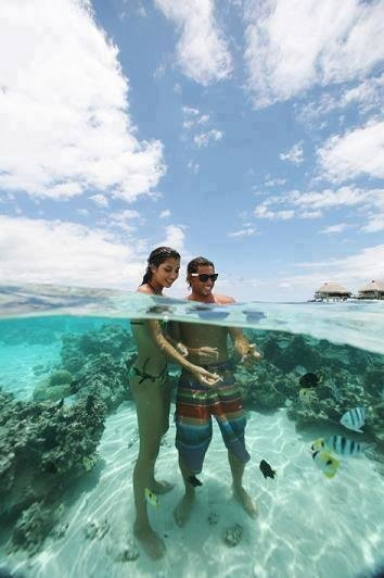 Crystal clear water, Philippines