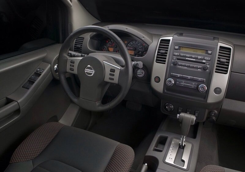 Nissan Xterra - interior shot