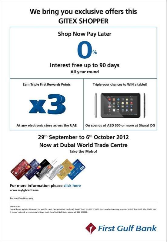 Gitex FGB offer