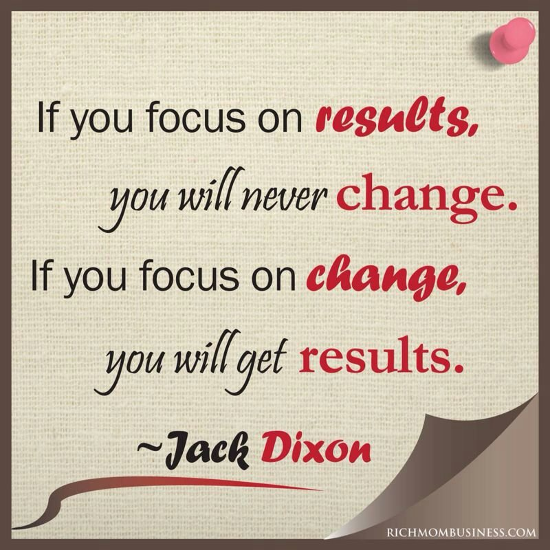 Change and Results