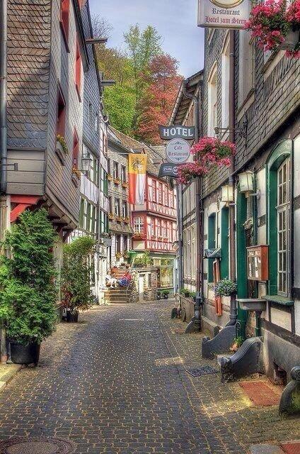 Monschau, Germany.