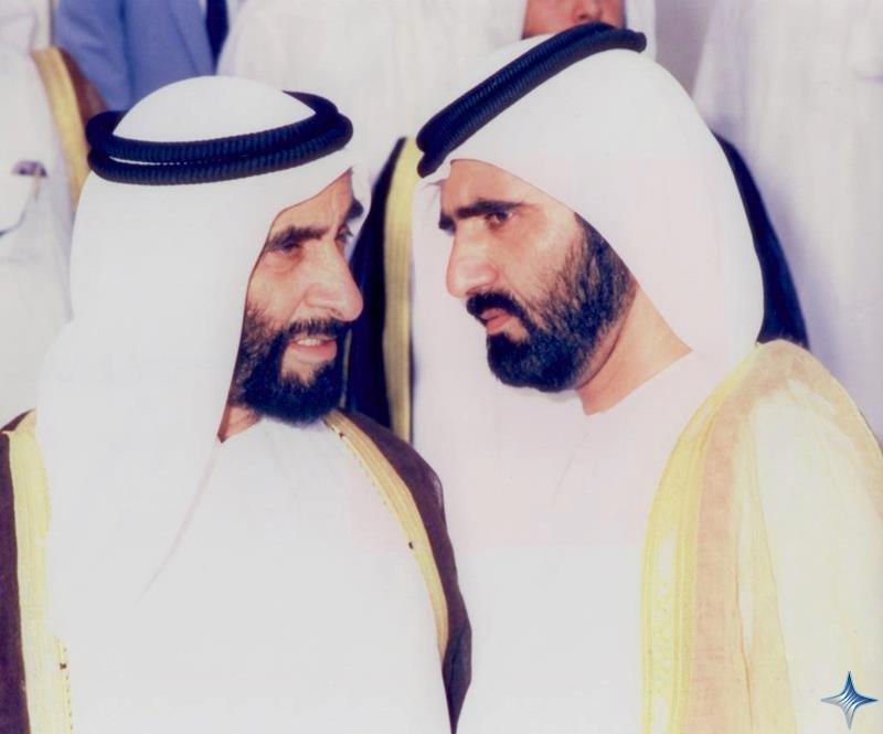 Rare Pictures for Sheikh Zayed and Sheikh Mohamad Bin Rashed