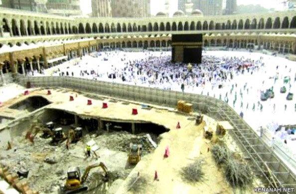 صور رائعة لن تتكرر لتوسعة المطاف في #مكة #السعودية - صورة 3