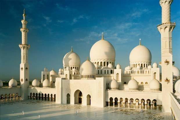 مسجد #الشيخ_زايد في #أبوظبي