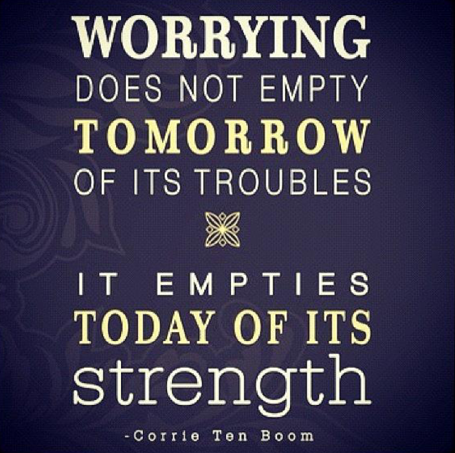 What worrying does and doesnt do
