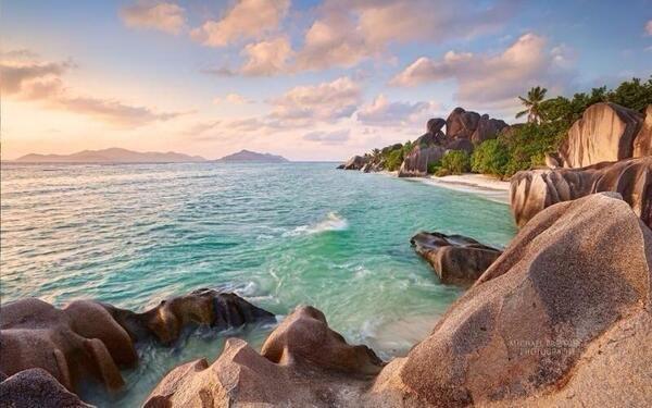 Digue Beach, Seychelles