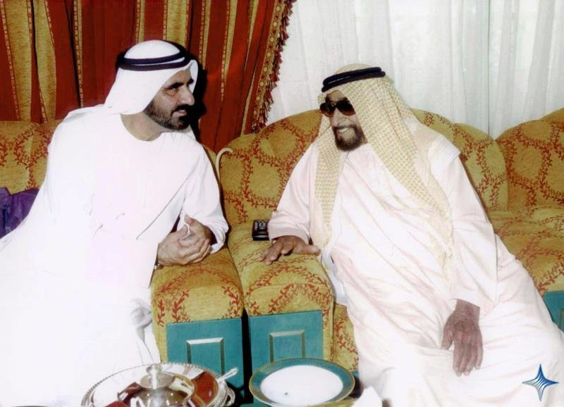 Rare Pictures for Sheikh Zayed and Sheikh Mohamad Bin Rashed 5