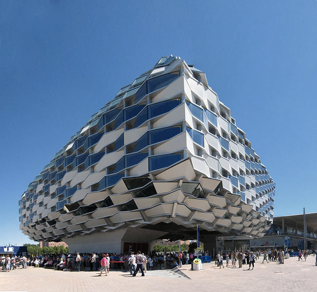 Amazing Buildings - Pabellon de Aragon (Zaragoza)